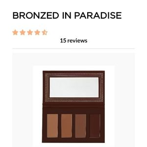 Ace Beaute Bronzed In Paradise Bronzer Palette